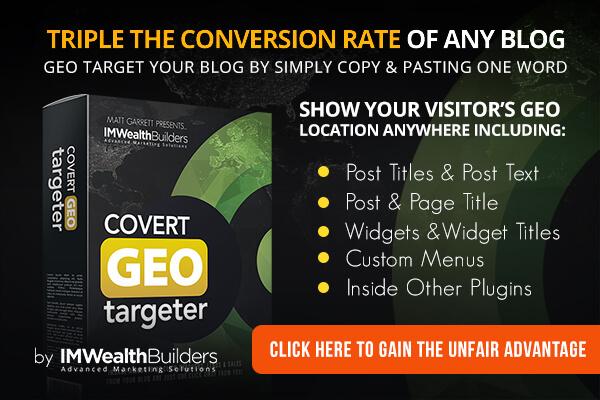 Covert Geo Targeter